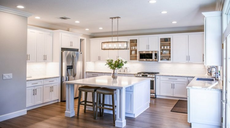 Modern White Kitchen - Make a Big Impact with these Home Improvements