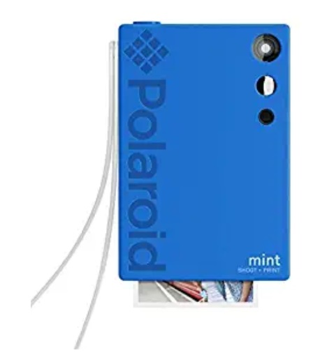 Polaroid Mint Shoot + Print Camera in Blue - Capture Your Children's School Moments with the Polaroid and Kodak