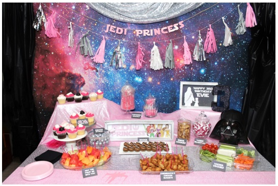 Out of This World Galaxy Themed Party - 5 Toddler Birthday Party Ideas