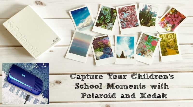 Polaroid Mint Shoot + Print and Kodak Instant Digital Printer - Capture Your Children's School Moments with Polaroid and Kodak