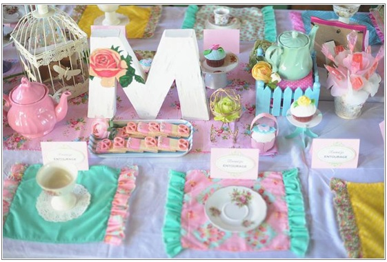 Princess Tea Party - 5 Toddler Birthday Party Ideas