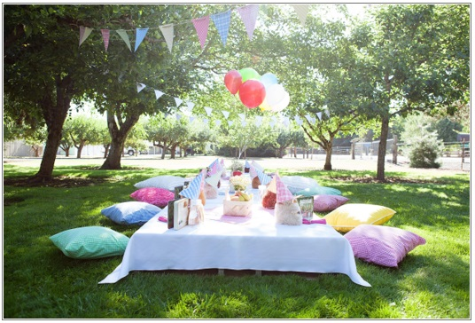 Teddy Bear Picnic - 5 Toddler Birthday Party Ideas