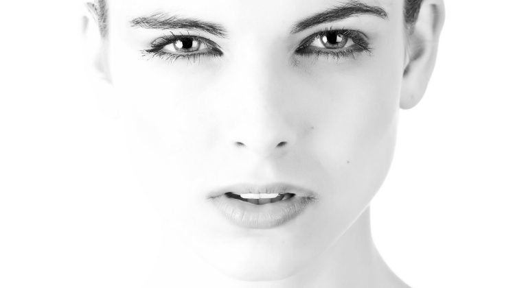 Beautiful Face in Black and White - Facial Care: Skincare Tips for a Dewy Visag