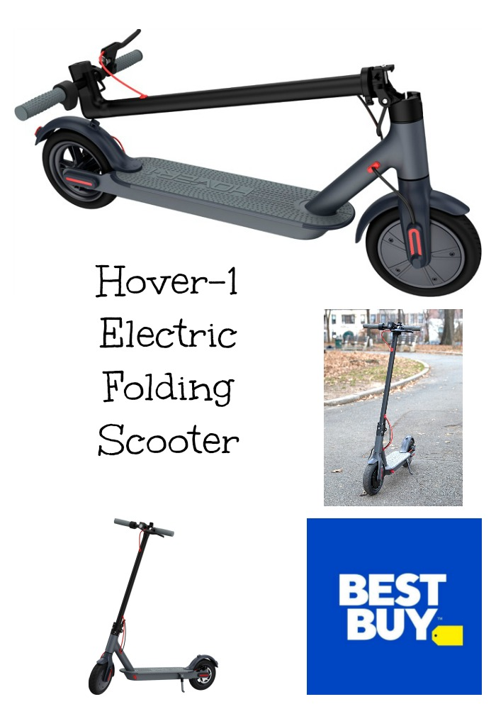 Check Out the Hover-1 Electric Folding Scooter at Best Buy