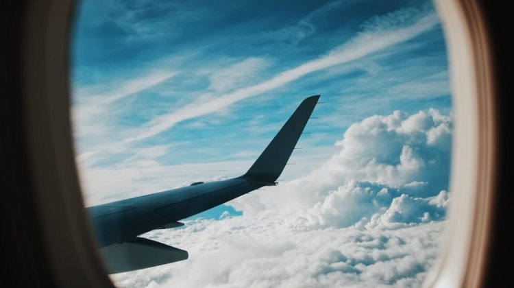 Airplane Window - Stay Healthy While Traveling
