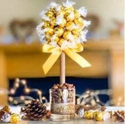 White Lindor Tree - Make Christmas Sweeter