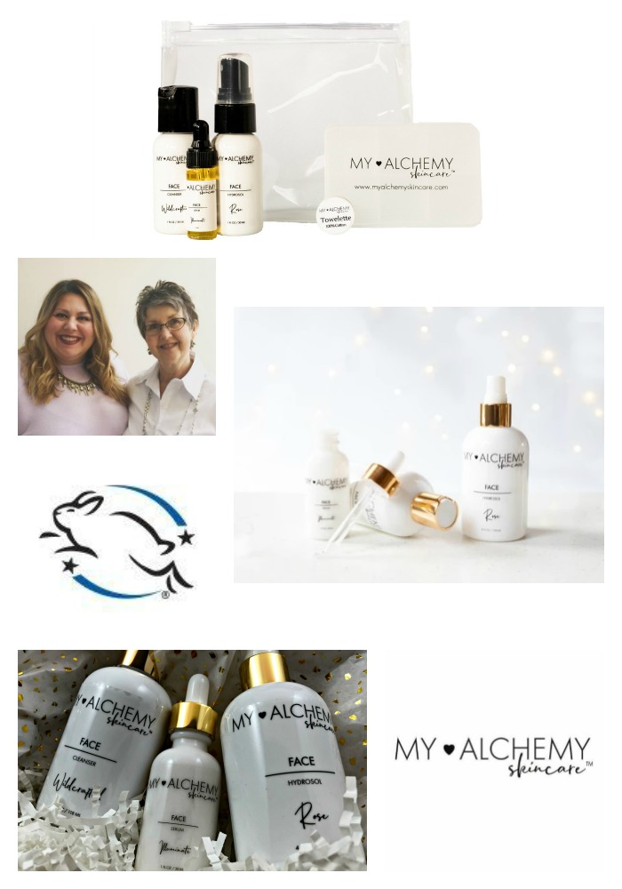 My Alchemy Skincare Collage