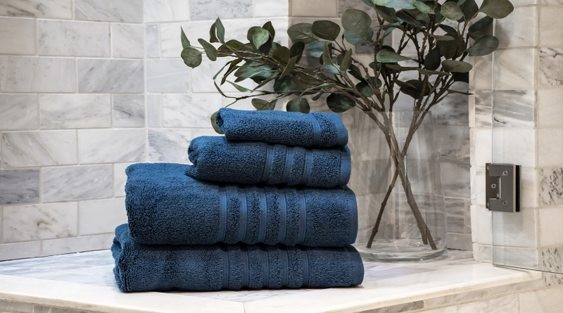 Hotel Towels in Midnight, from Macy's - Hotel Collection Towels