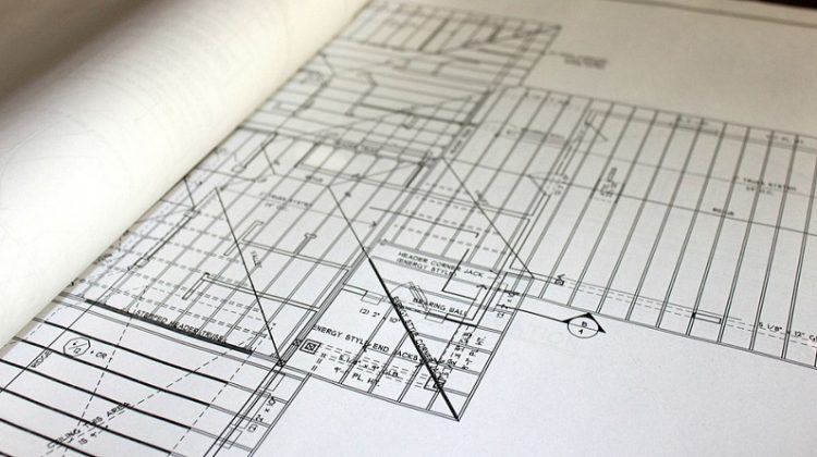 Blueprints of floor-plan - Floor Screeding