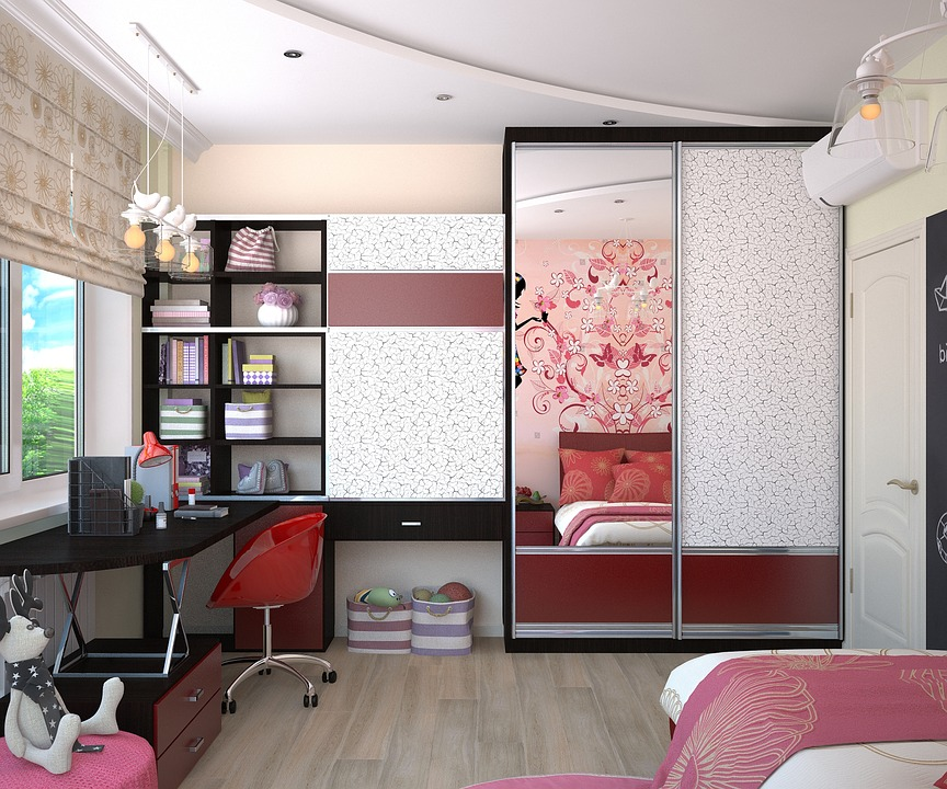 Pretty and well organized girls bedroom - Giving a Child More Responsibility at Home