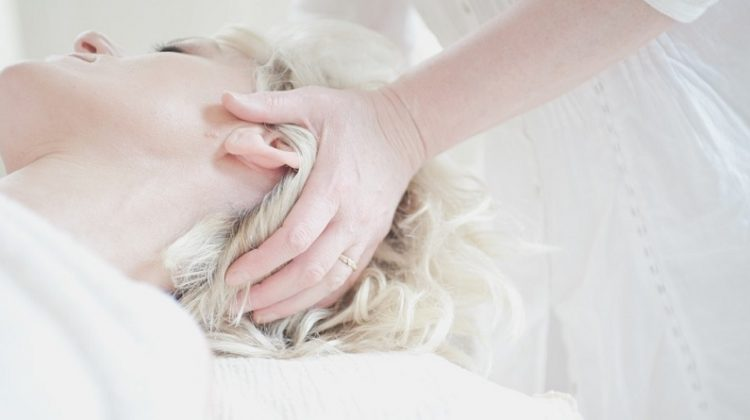 Woman Receiving Head Massage - Pamper Yourself