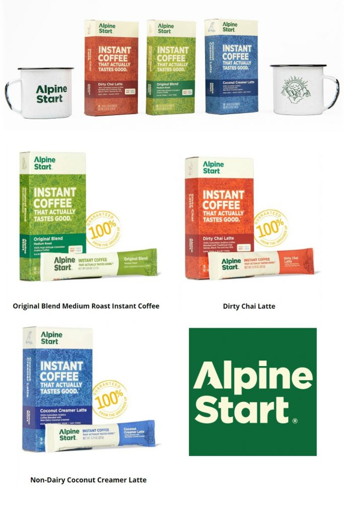 Alpine Start Coffees and Creamer - 2019 Holiday Gift Guide Page - Yummy Treats & In the Kitchen