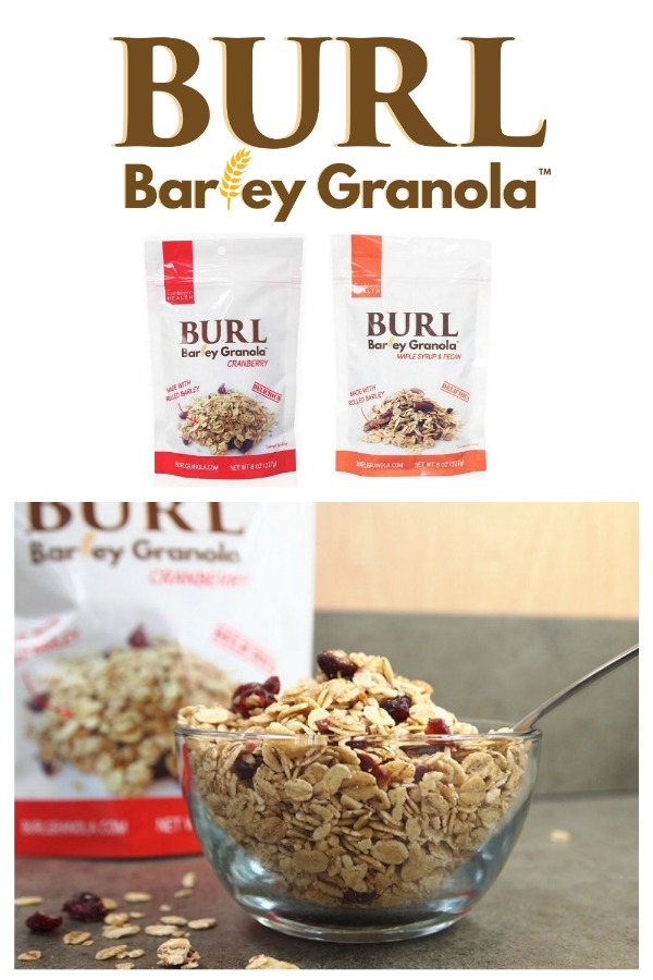 Burl Barley Granola - 2019 Holiday Gift Guide Page - Yummy Treats & In the Kitchen