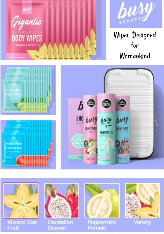 Busy Beauty Wipes - 2019 Holiday Gift Guide - For the Travel Lover
