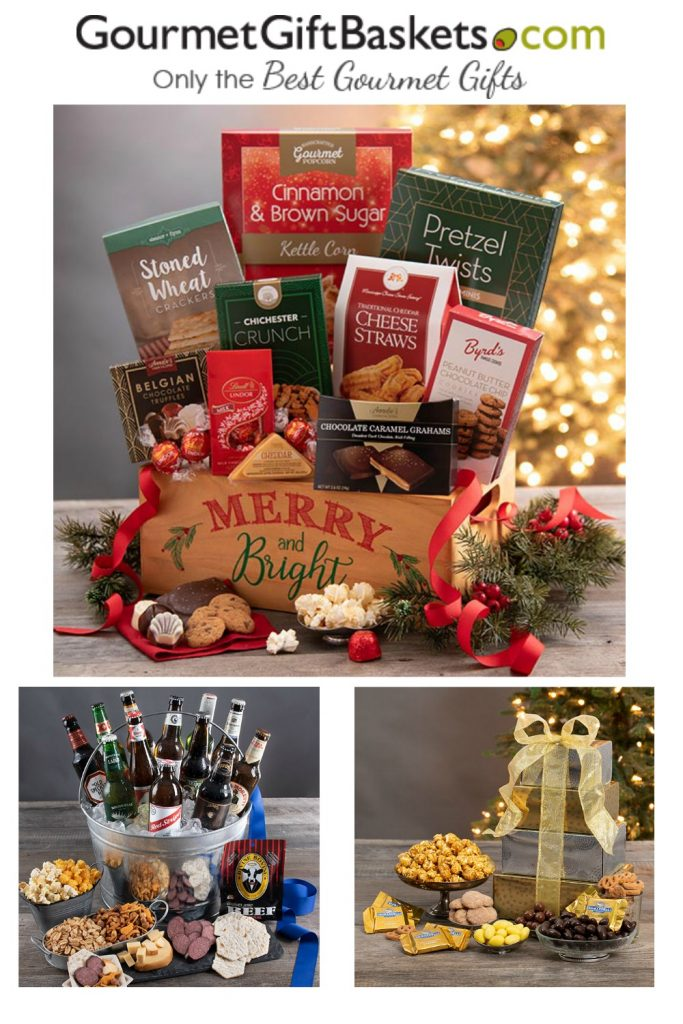 GourmetGiftBaskets.com - 2019 Holiday Gift Guide Page - Yummy Treats & In the Kitchen