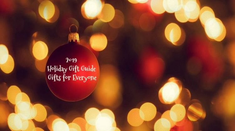 Holiday Bokeh with Red Ornament -2019 Holiday Gift Guide - Something Fun for Everyone