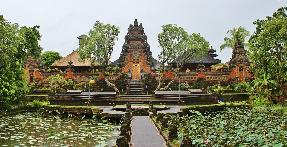 Temple in Bali - Honeymoon