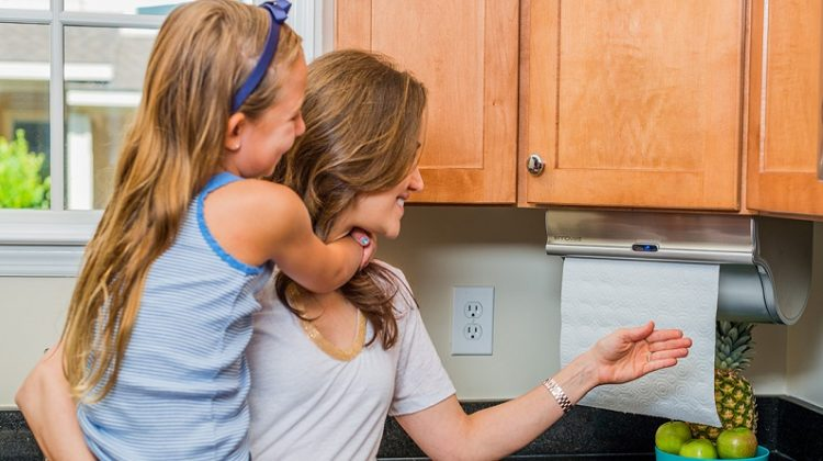 Hands Free Paper Towel Dispensers from Innovia Home Innovations