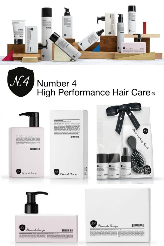 Number 4 High Performance Hair Care - 2019 Holiday Gift Guide -Beauty Skincare Hair Care