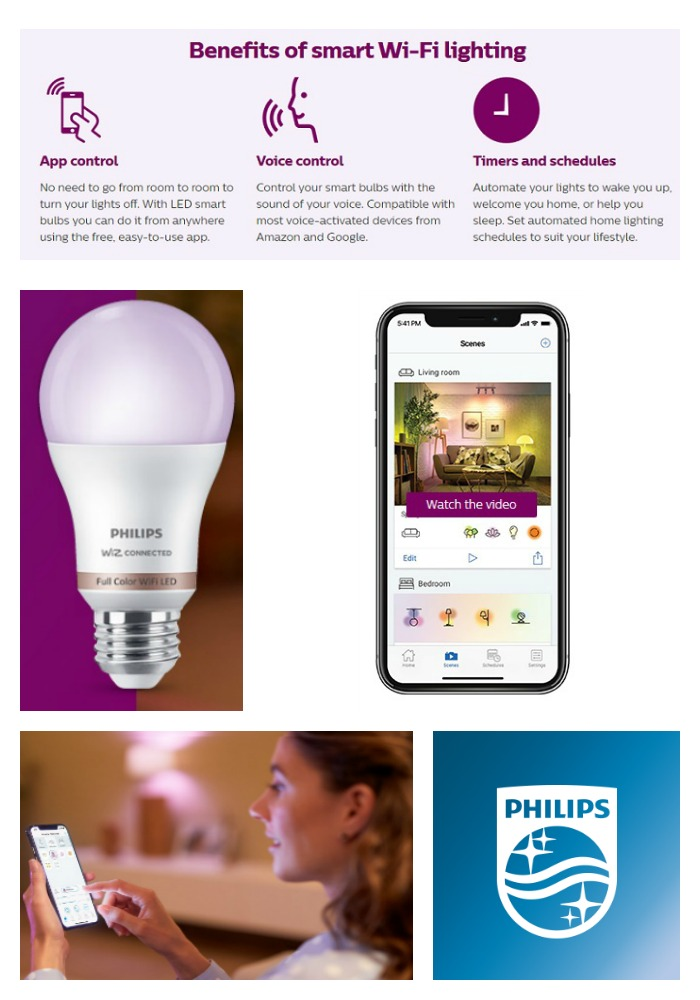 Philips - smart Wi-Fi LED Lighting - 2019 Holiday Gift Guide Page - For the Tech Lover