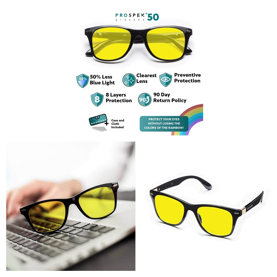 PROSPEK 50 by Spektrum - Spektrum Blue Light Blocking Glasses