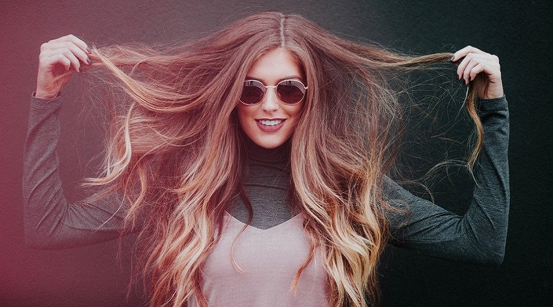 Woman with Long Hair - Relaxed Version of You