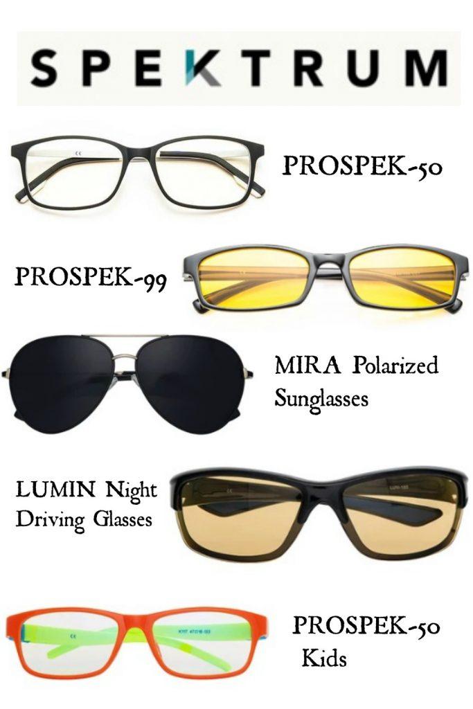 Spektrum Collage - Spektrum Blue Light Blocking Glasses