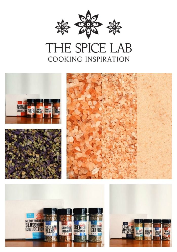 The Spice Lab - 2019 Holiday Gift Guide Page - Yummy Treats & In the Kitchen