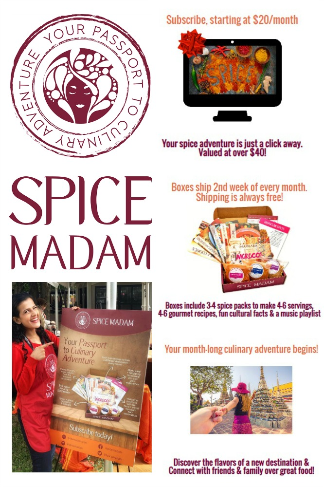 Spice Madam Collage - 2019 Holiday Gift Guide Page - Yummy Treats & In the Kitchen