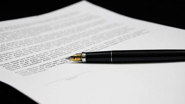 Legal Document and Fountain Pen - Writing a Will