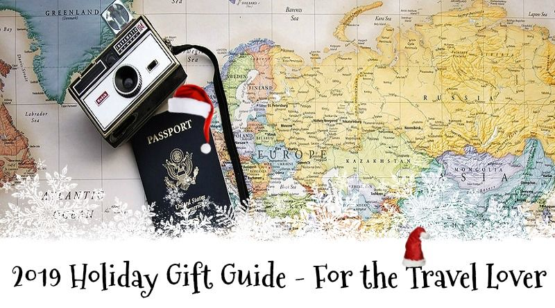 Map, Camera , and Passport -2019 Holiday Gift Guide - For the Travel Lover