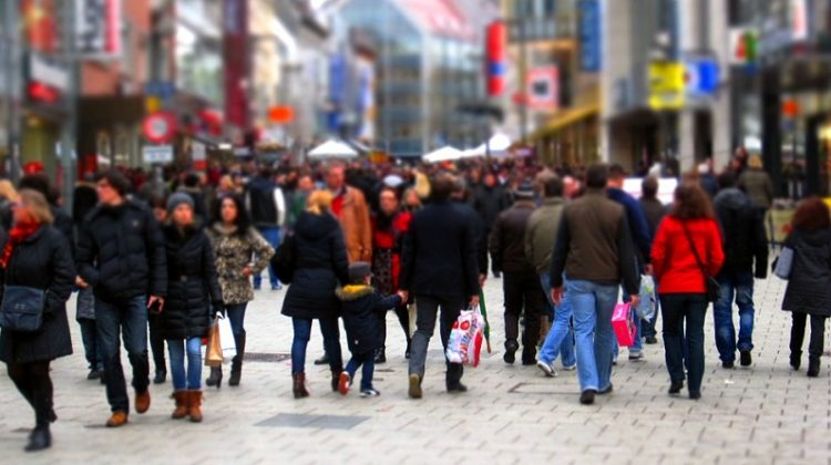 Throngs of Shoppers - Christmas Party Purchases You Can Use All Year Round