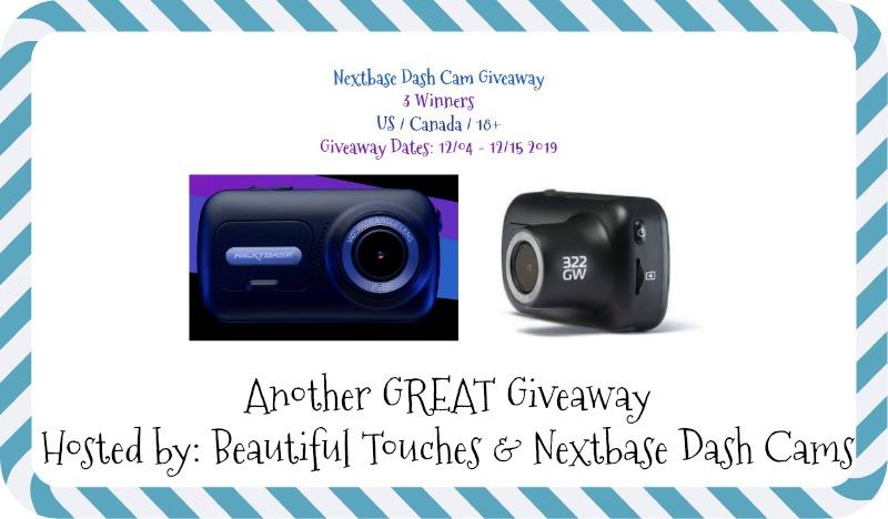 Nextbase Dash Cam Giveaway