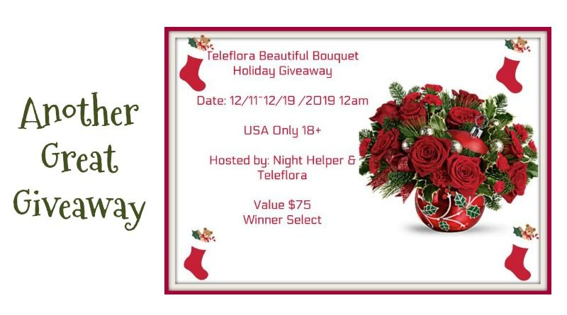 Teleflora Beautiful Bouquet Holiday Giveaway