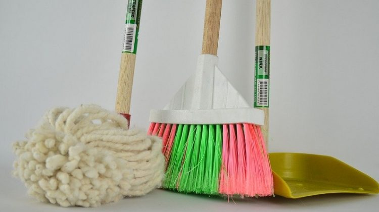 Mob Broom and Dustpan - Getting The Housework Done