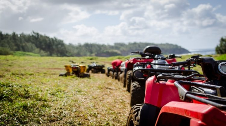 ATV's in Field -