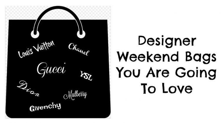 Designer Weekend Bags