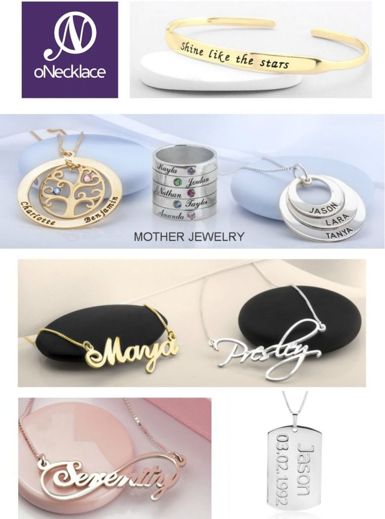 oNecklace Collage - 2020 Valentine's Day Gift Guide