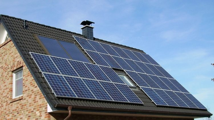 Solar Panels on Home Roof - Environmental Benefits of Solar Power