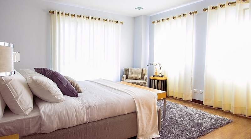 Airy Neutral Bedroom - Perfect Sleep Environment
