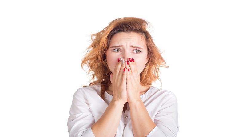 Sad distressed woman - Emotional Distress