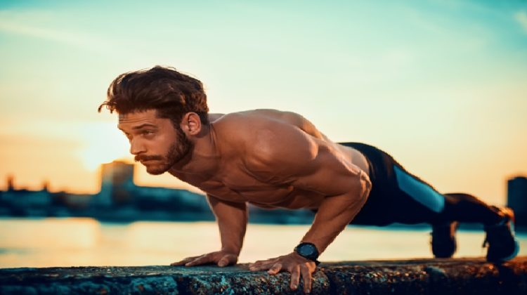 Guy doing push-ups - Get the Most Out of Your Workout