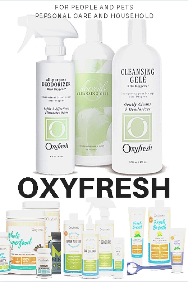 Oxyfresh Products - 2020 Spring Cleaning Gift Guide Page