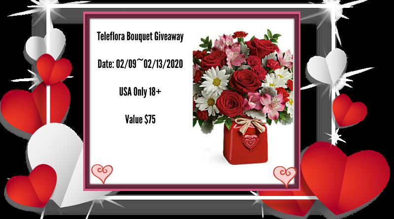 Teleflora Bouquet Giveaway