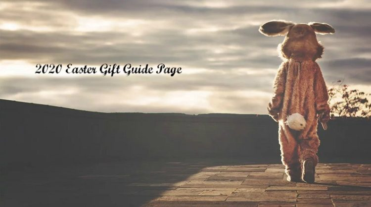 Person in Easter Bunny Costume Walking into the Sunset - 2020 Easter Gift Guide