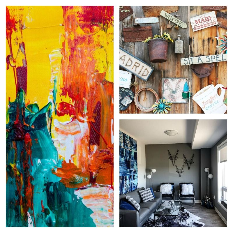 Wall Art - Giving Your Home An Eclectic Touch