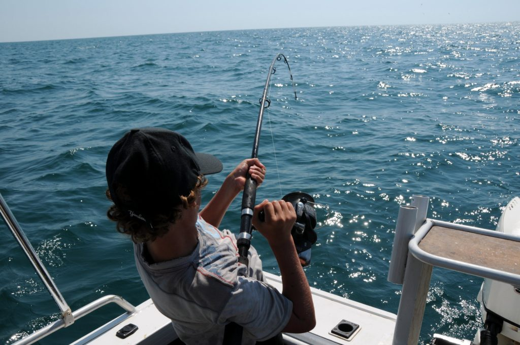 Fishing in open waters - Fly Fishing