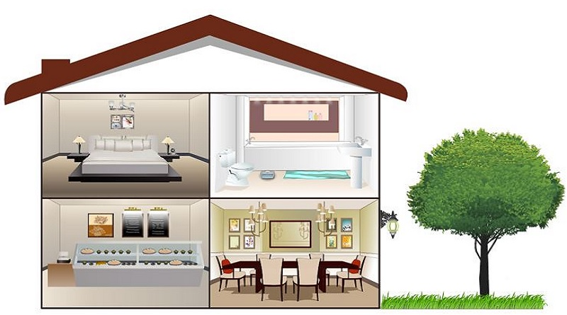 Cross-Section of a House - Home Improvement & Renovation Guide - Invest in a Fixer Upper