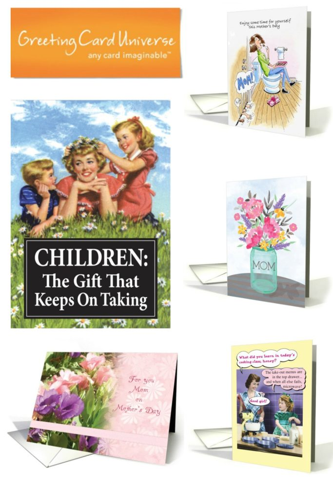 Cards from Greeting Card Universe - 2020 Mother's Day Gift Guide Page