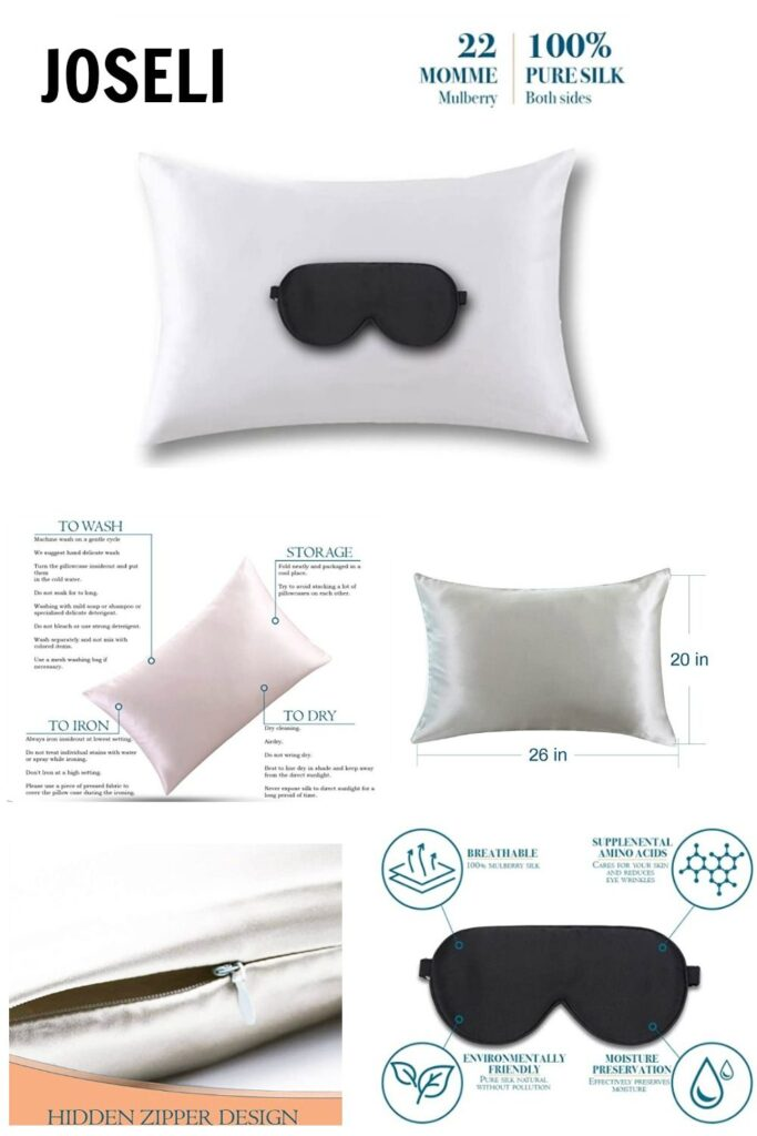 Joseli Silk Pillowcases